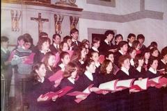 Los inicios del coro