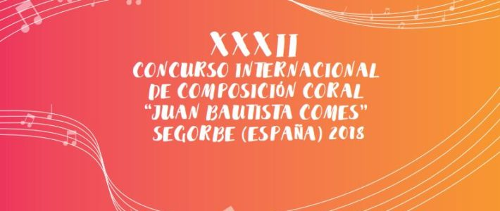 Convocatoria del Premio de Composición Coral 2018